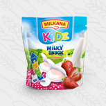 Milkana Kidz / Милкана Кидз Милки Снэк со вкусом клубники, 100 г