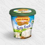 Milkana / Милкана Tasty Fresh творожный сыр с хреном, 150 г