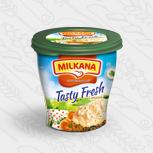 Milkana / Милкана Tasty Fresh творожный сыр с лососем, 150 г