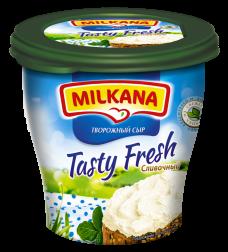 Milkana / Милкана Tasty Fresh сливочный творожный сыр, 150 г