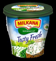 Milkana / Милкана Tasty Fresh творожный сыр с прованскими травами, 150 г