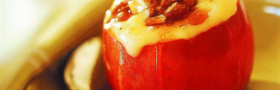 Яблоки, фаршированные сыром <br> БРИ ЛЬВИНОЕ СЕРДЦЕ