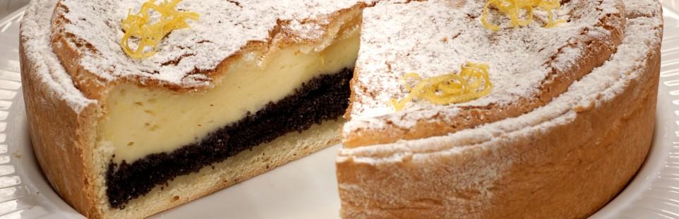 Лимонный чизкейк на основе творожного сыра Милкана Tasty Fresh сливочного