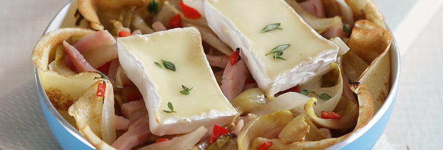 Блинчики Фаршированные сыром Каприз Богов