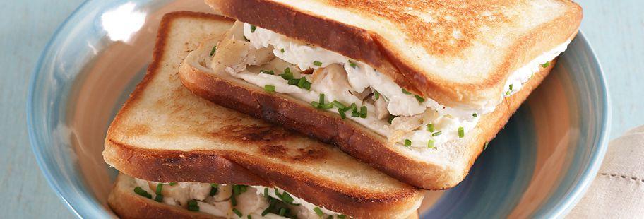 Горячий сэндвич с сыром Сен-Море